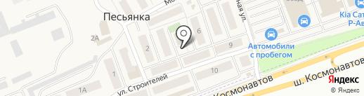Викторг на карте Песьянки