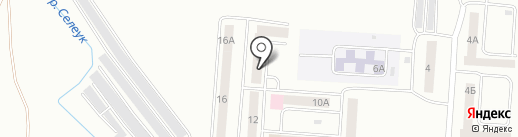 Участковый пункт полиции на карте Стерлитамака