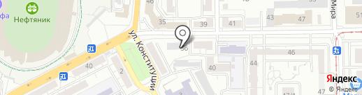 Баш-Недвижимость на карте Уфы
