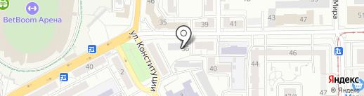 ГСК на карте Уфы