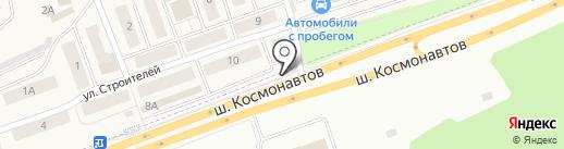Каскад Плюс на карте Песьянки