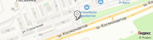 Продуктовый магазин на карте Песьянки