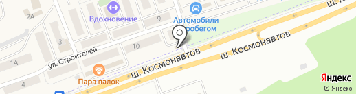 Пермский сад на карте Песьянки
