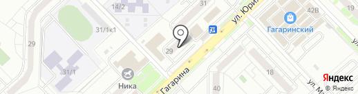 Булка на карте Уфы