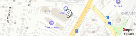 А-Холдинг на карте Уфы