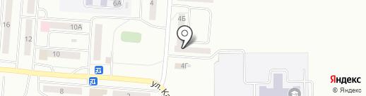Башфармация, ГУП на карте Стерлитамака
