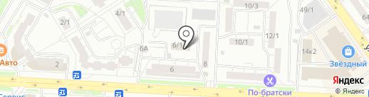 Магазин-ателье на карте Уфы