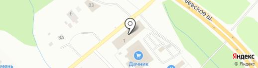 АЛИ-БАБА на карте Уфы