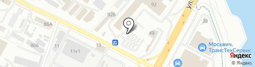 Marka на карте Уфы