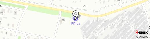 АЗС Салават на карте Ишимбая