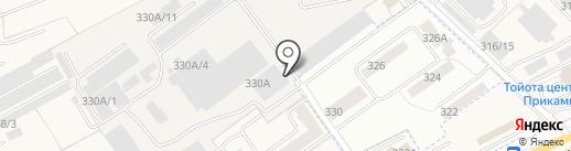 Авто-Успех59 на карте Перми