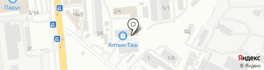 АА Волга Строй на карте Уфы