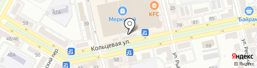 Магазин детской одежды на карте Уфы