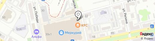 Массажный кабинет на карте Уфы
