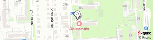 Фунтик на карте Перми