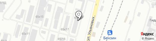 ПрофСайд на карте Уфы