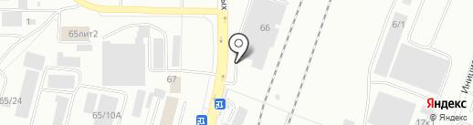 Центр авторазбора автобусов на карте Уфы