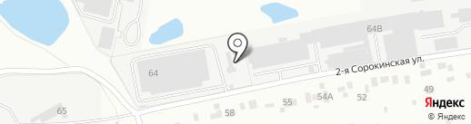 АСТРА на карте Перми