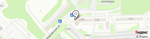 Боровики на карте Перми