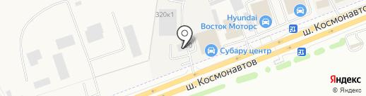 КОМЕК МАШИНЕРИ на карте Перми