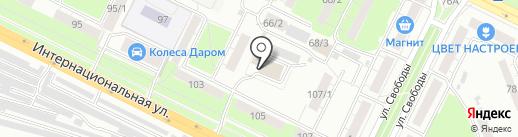 Ресурс Сервис на карте Уфы