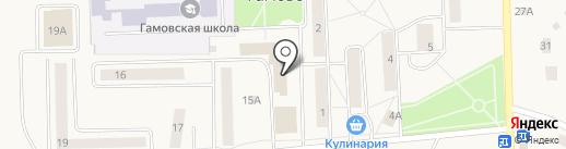 Аптека.ру на карте Гамово