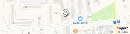 Сфера на карте Гамово