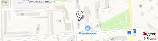 Луч на карте Гамово