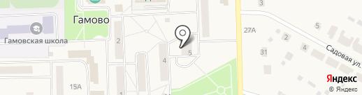Сбербанк, ПАО на карте Гамово