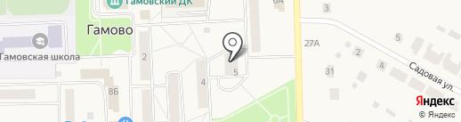 Участковый пункт полиции на карте Гамово