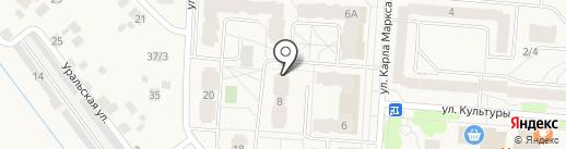 Адель на карте Кондратово