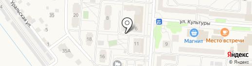 Дюймовочка на карте Кондратово