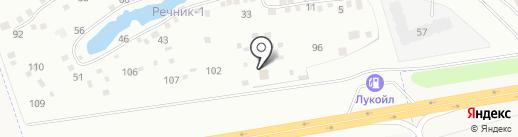 Маяковский на карте Перми
