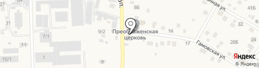 Автомойка на карте Гамово