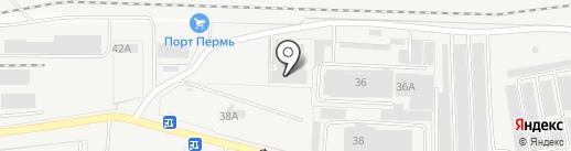 КОРОНА на карте Перми