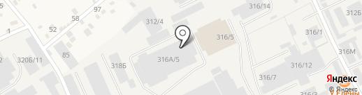 Автосервис по ремонту грузовых автомобилей Mercedes на карте Перми