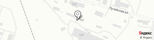 Ареал на карте Уфы