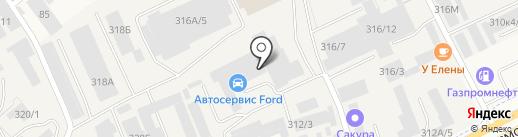 Сакура Сервис на карте Перми