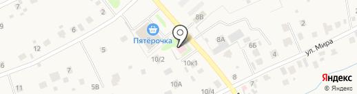 Нагаевский фельдшерский пункт на карте Уфы