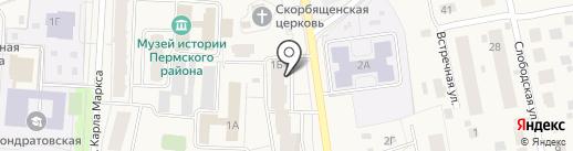 Магазин портьерных тканей и карнизов на карте Кондратово
