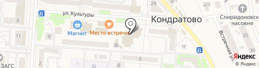Магазин аксессуаров к сотовым телефонам на карте Кондратово