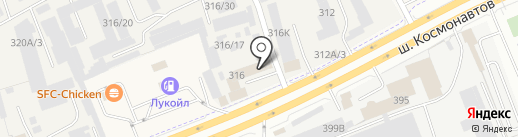 Trekko.pro на карте Перми