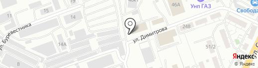 КУБЕРА-СНАБ на карте Уфы