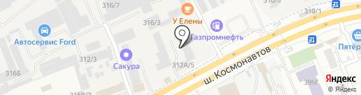 Авто-Трейд на карте Перми