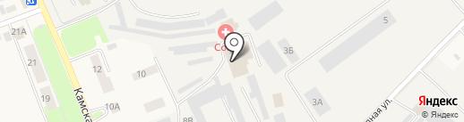 КВАРТАЛ-С на карте Кондратово