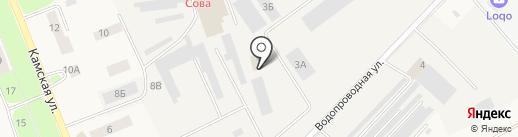 Автотест на карте Кондратово