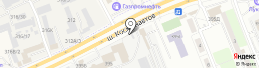 Банкомат, Транскапиталбанк, ПАО на карте Перми