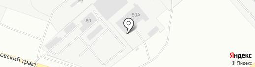 ДИСКУС на карте Перми