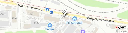 МегаПрод на карте Уфы