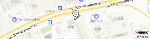 Шинмастер на карте Перми